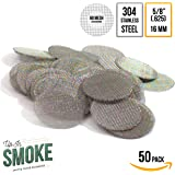 """Made in the USA - 50 5/8""""(.625) 304 Stainless Steel Premium Pipe Screen Filters"""