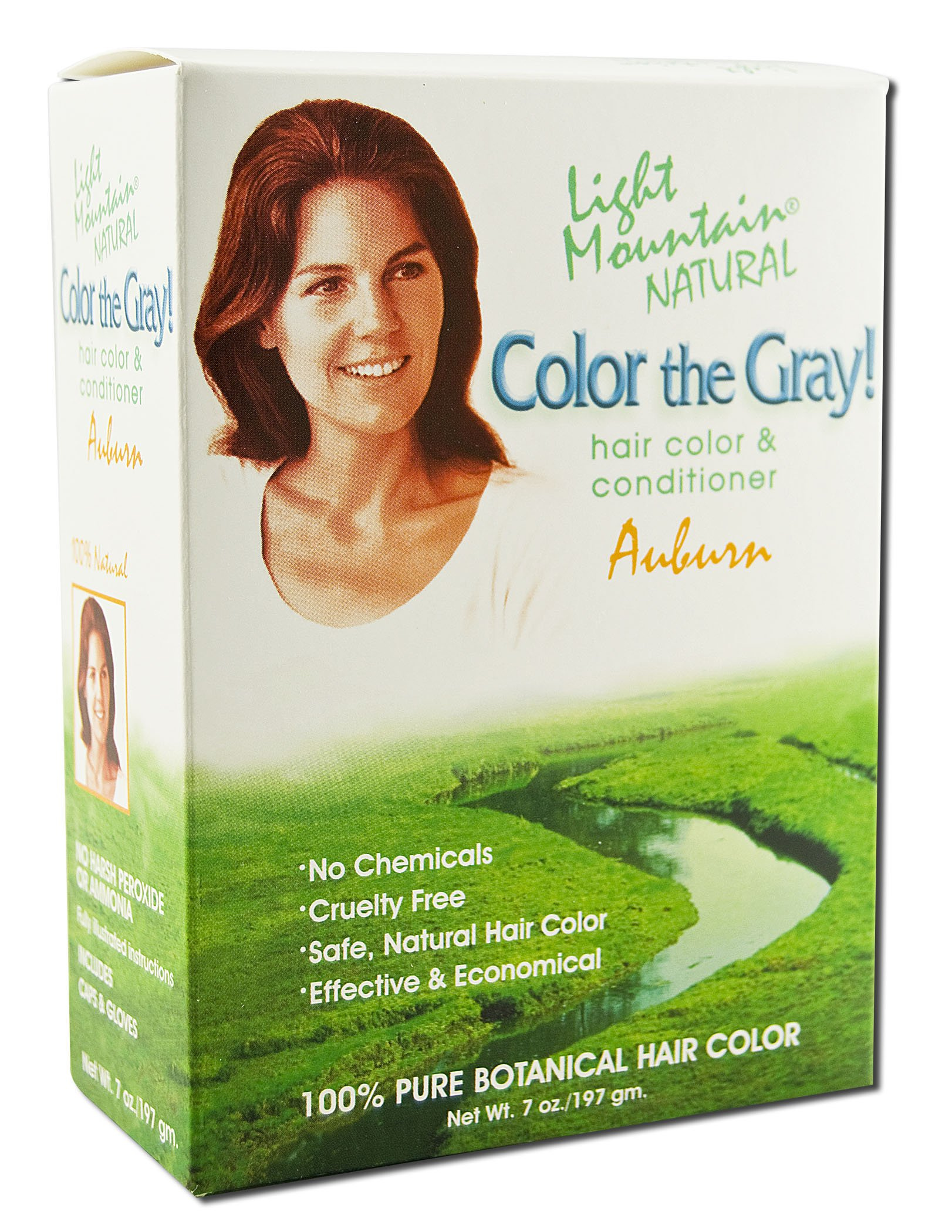 Light Mountain Color the Gray Auburn - 7 fl oz by LIGHT MOUNTAIN