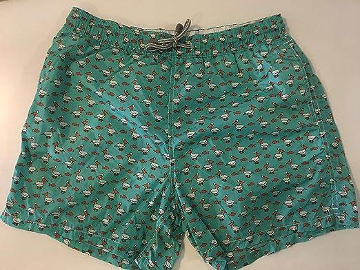 da73c1429a MC2 Saint Barth Bright Green Swim Short For Men: Amazon.ae