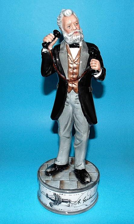 Royal Doulton Prestige Figura Alexander Graham Bell HN5052 Caja