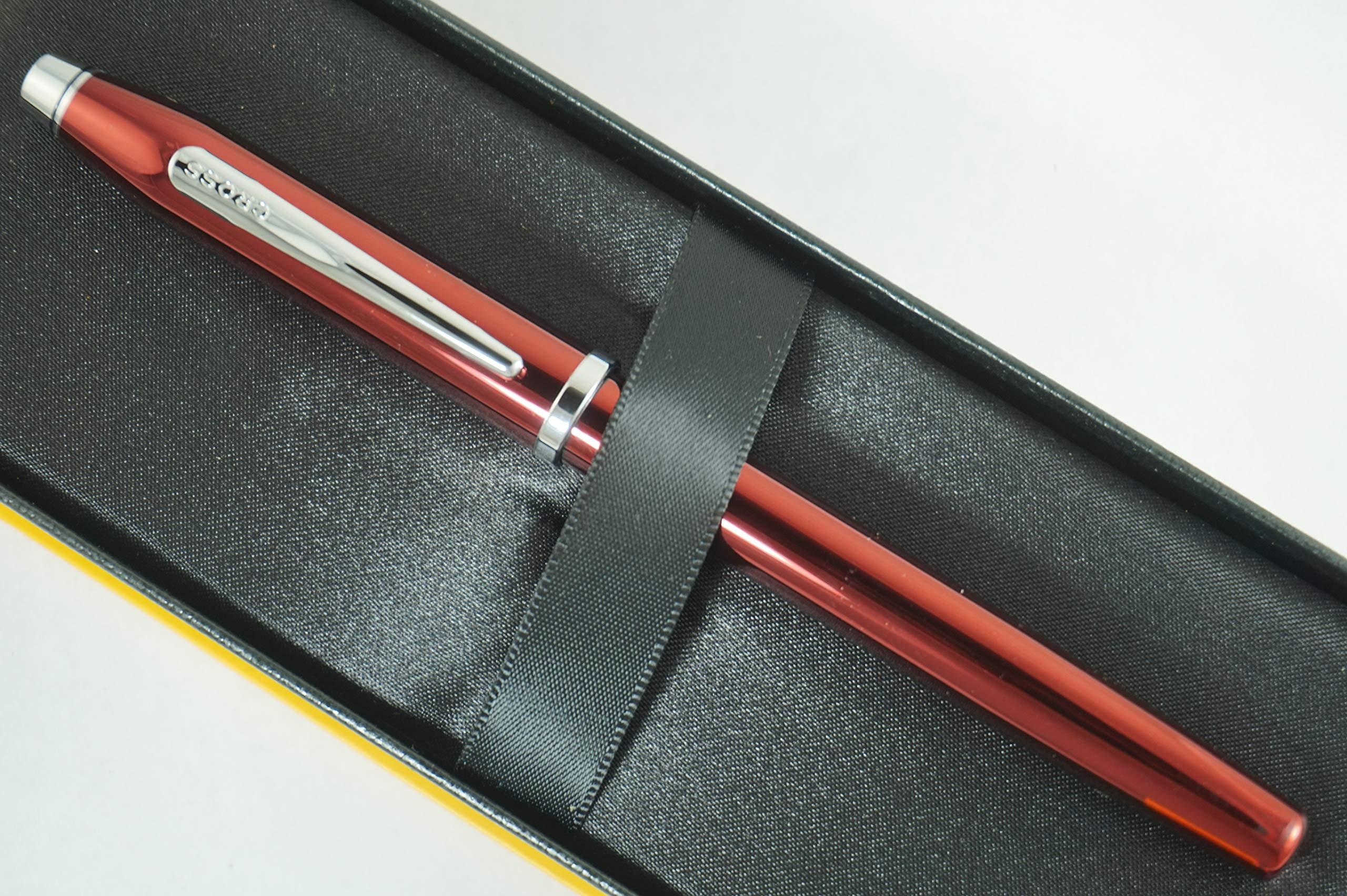 Cross Century II Limited Series, Pearlescent Metallic Ruby Red selectip Gel Ink Rollerball Pen by A.T. Cross (Image #1)