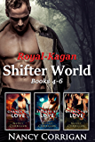 Kagan Wolves: Royal-Kagan Shifter World series, books 4-6