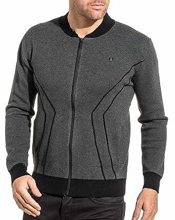 BLZ jeans - RV-Netz Weste dunkelgrau Mann - Color: Grau, Size:
