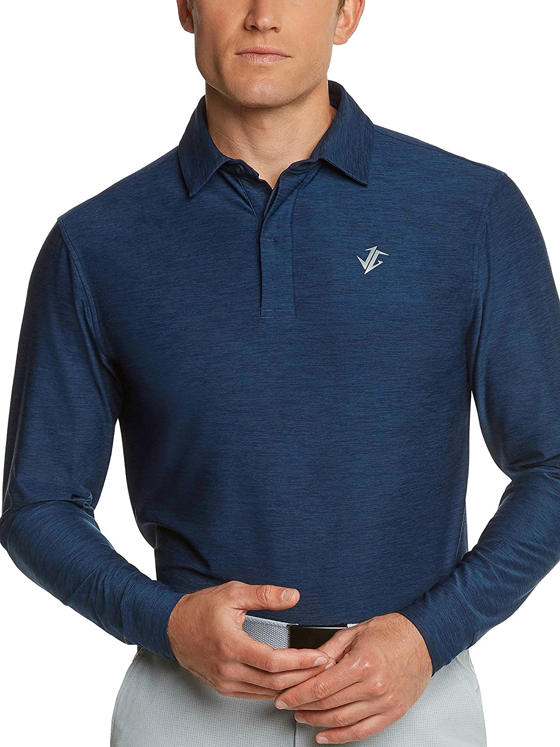 982e643f WEAR THESE BUSINESS CASUAL POLOS ALL YEAR ROUND - Perfect for work, perfect  for golf. Dri fit material makes these lightweight dress shirts ideal any  time ...