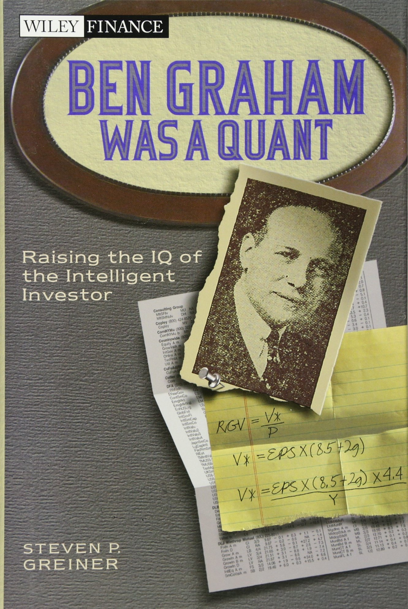 Intimidatingly intelligent investor