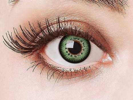 22cd325aab700c Couleur des lentilles de contact Butterfly Effect in grün de aricona –  années couvrant la lentille