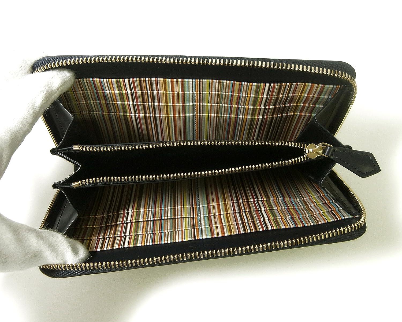b639ae33601a Amazon | [ポールスミス] 長財布 ラウンドファスナー ダークブルー マルチストライプ PA-1220 [並行輸入品] | Paul  Smith(ポール・スミス) | バッグ・スーツケース