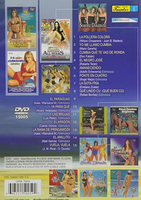 Amazon.com: La Sonora Dinamita: 15 Super Exitos Originales: La Sonora Dinamita: Movies & TV