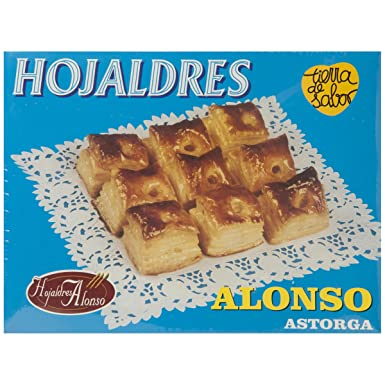 ALONSO - Hojaldres Miguelitos Caja 700 Gr: Amazon.es ...