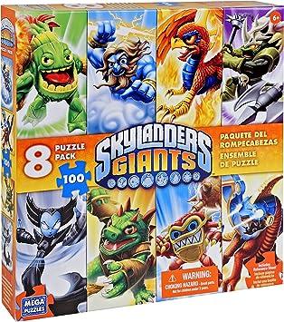 Mega Bloks Skylanders Giants 51133 Puzzle 8 en 1: Amazon.es: Juguetes y juegos