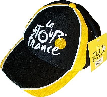 Taille Adulte r/églable Collection Officielle Le Tour de France Casquette de Cyclisme