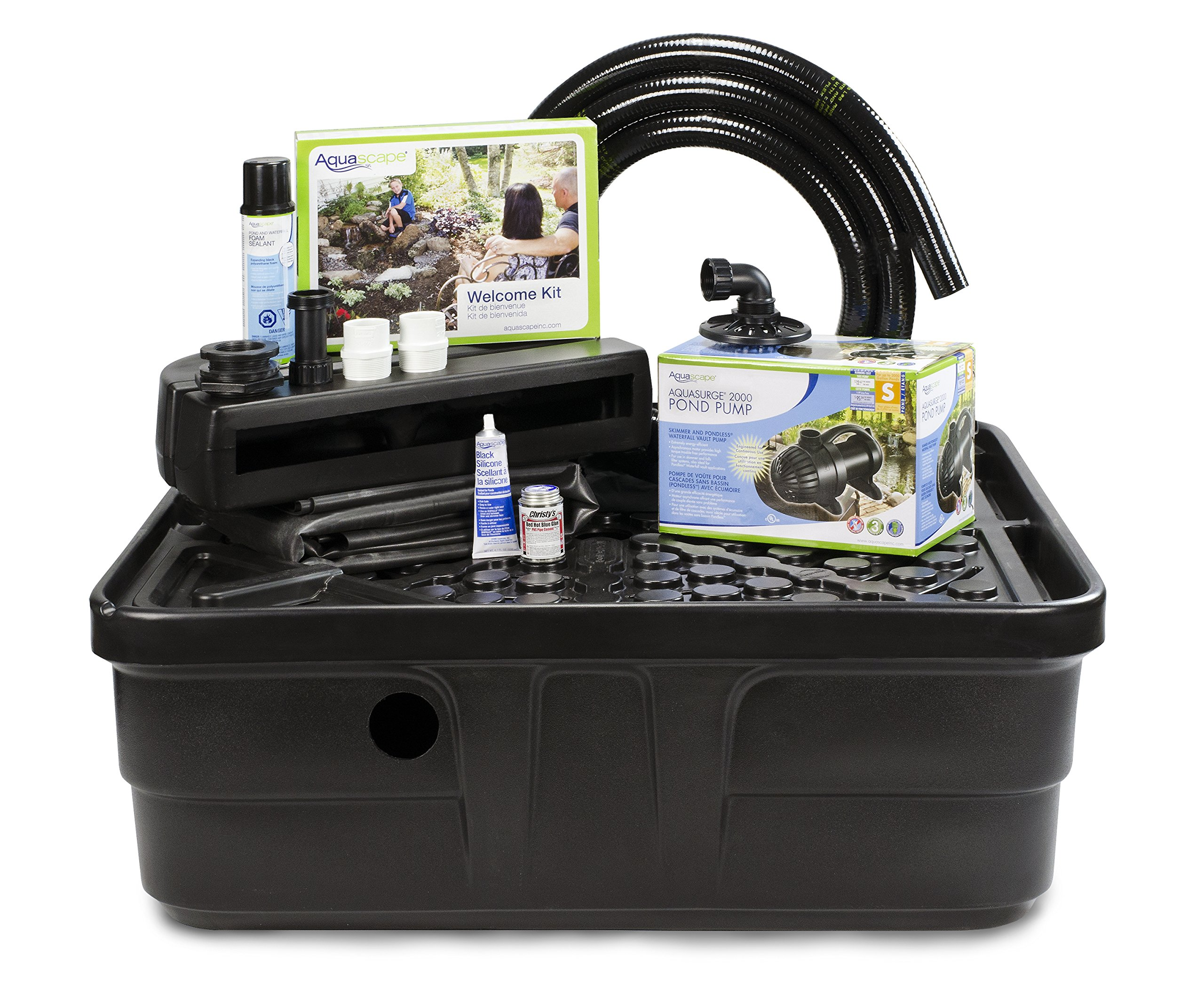 Aquascape Backyard Waterfall Fountain Kit for Landscape and Garden | 83013