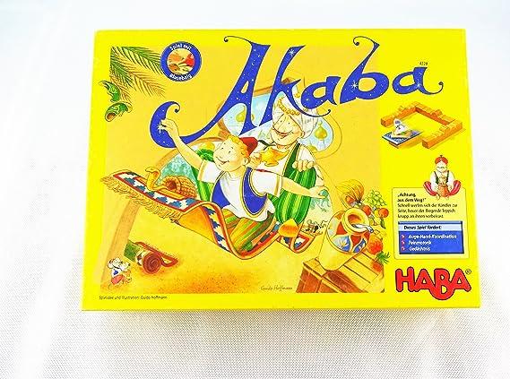 HABA 4228 Akaba - Juego de Mesa [Importado de Alemania]: Amazon.es ...
