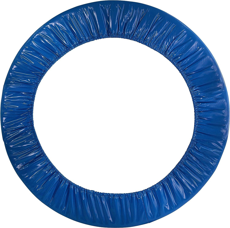 Upper Bounce - Cubierta de Protección para Bordes de Repuesto (Cubre Resortes Muelles) para Mini Cama Elástica Trampolín de Entrenamiento Redondo con 6 Patas