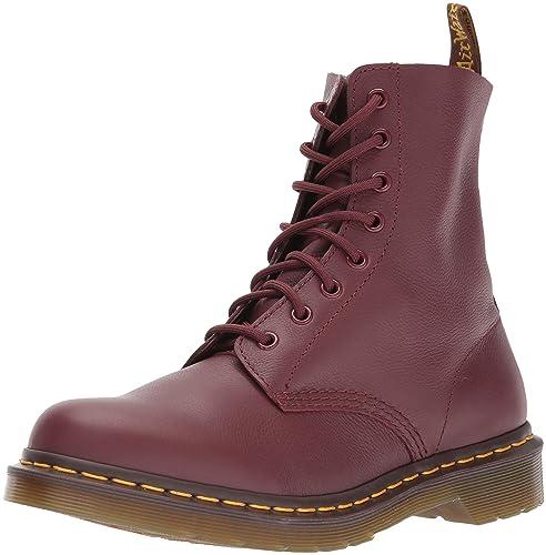 stylish design choose authentic best service Dr. Martens Women's Pascal Combat Boot, (Cherry Red), 3 UK/5 M US