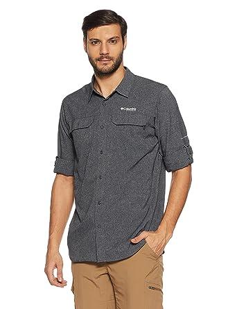 54788932e38 Amazon.com: Columbia Men's Irico Long Sleeve Shirt Medium Black ...