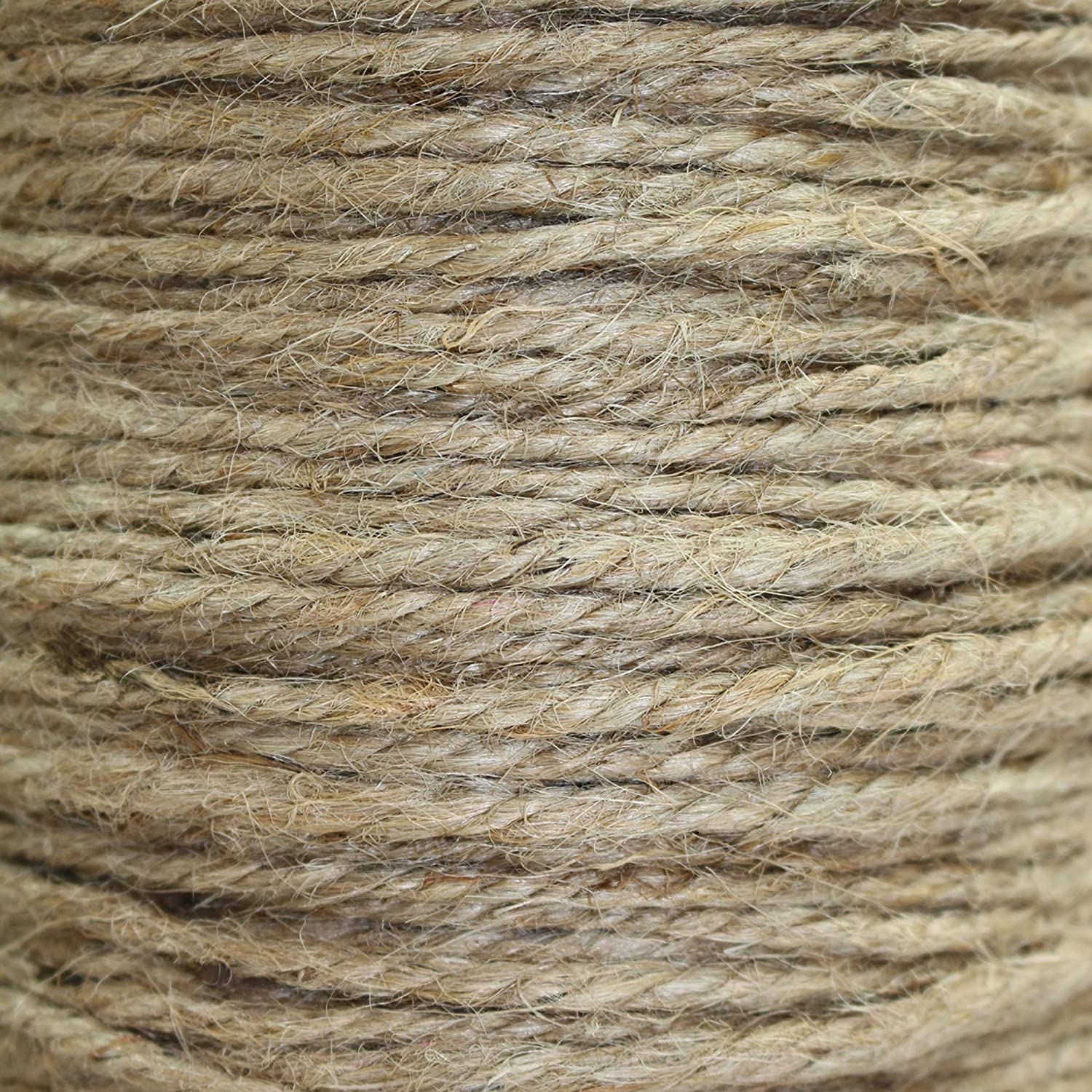 Crafts /& Crafting Packing SGT KNOTS Garden /& Gardening Thick Heavy Duty 3 Strand Jute Ropes Bailing Survival 1//4 in x 200 ft Strong All Natural Jute Fibers Twisted Jute Rope Home Decor
