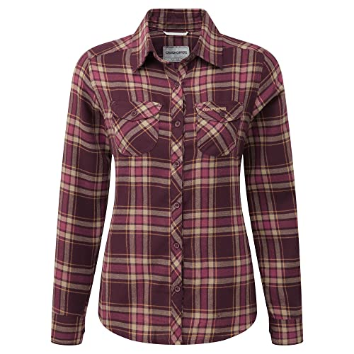 Craghoppers - Camisa de manga larga modelo Valemont para mujer