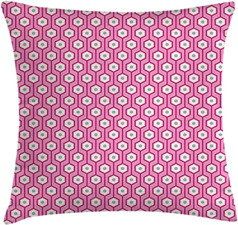 Abstract Throw Pillow Cushion Cover