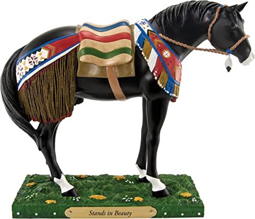 Trail of Painted Ponies Stands in Beauty Figurine, 6-Inch
