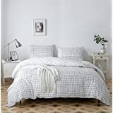 SANMADROLA Duvet Cover Set,Bedding Set Printed Duvet Cover,100% Washed Ultra-Soft Microfiber 3 Pieces, Soft and Breathable (L