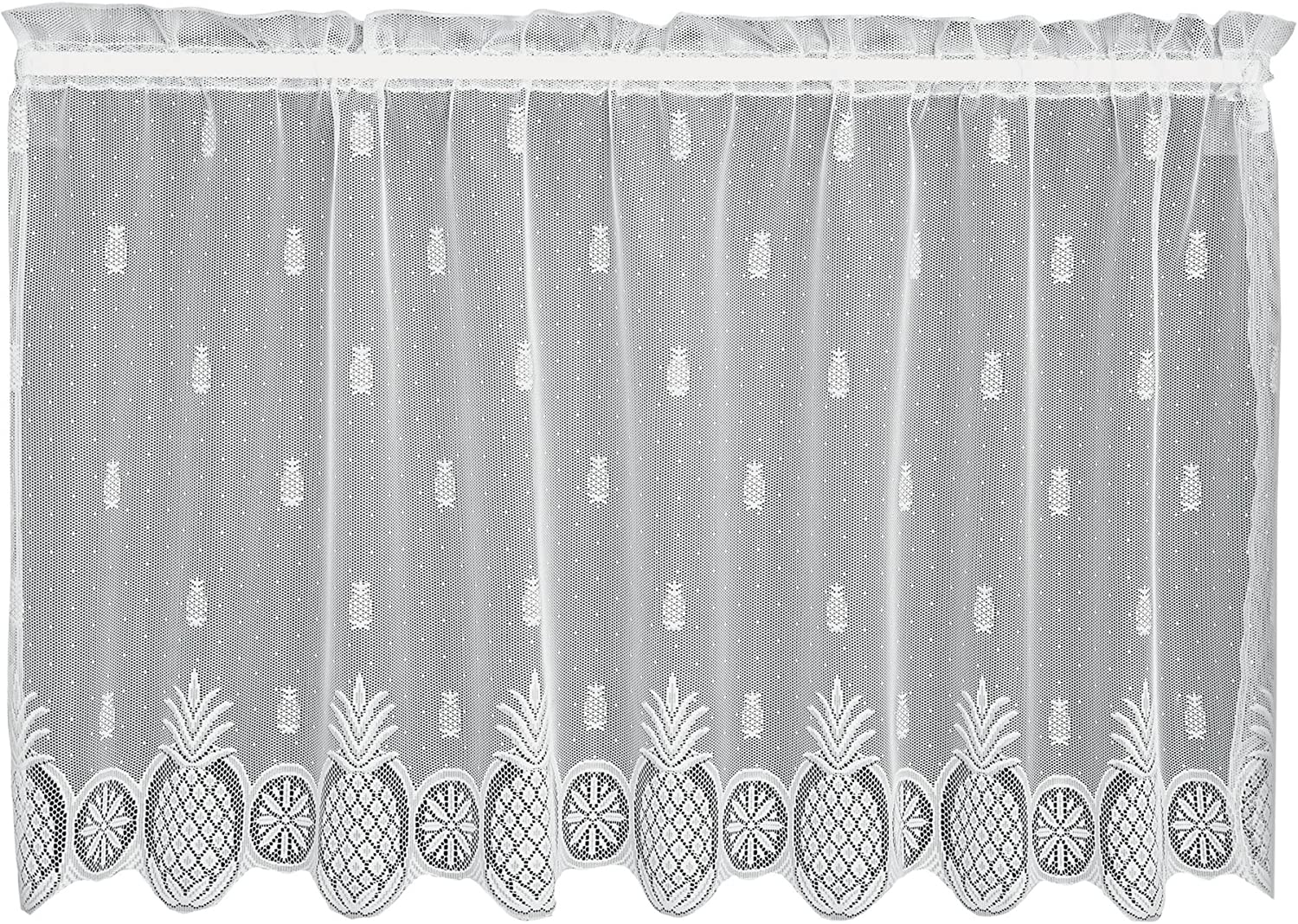 Heritage Lace Welcome Tier 60 by 30-Inch White
