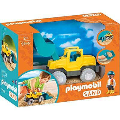 PLAYMOBIL Excavator Building Set: Toys & Games