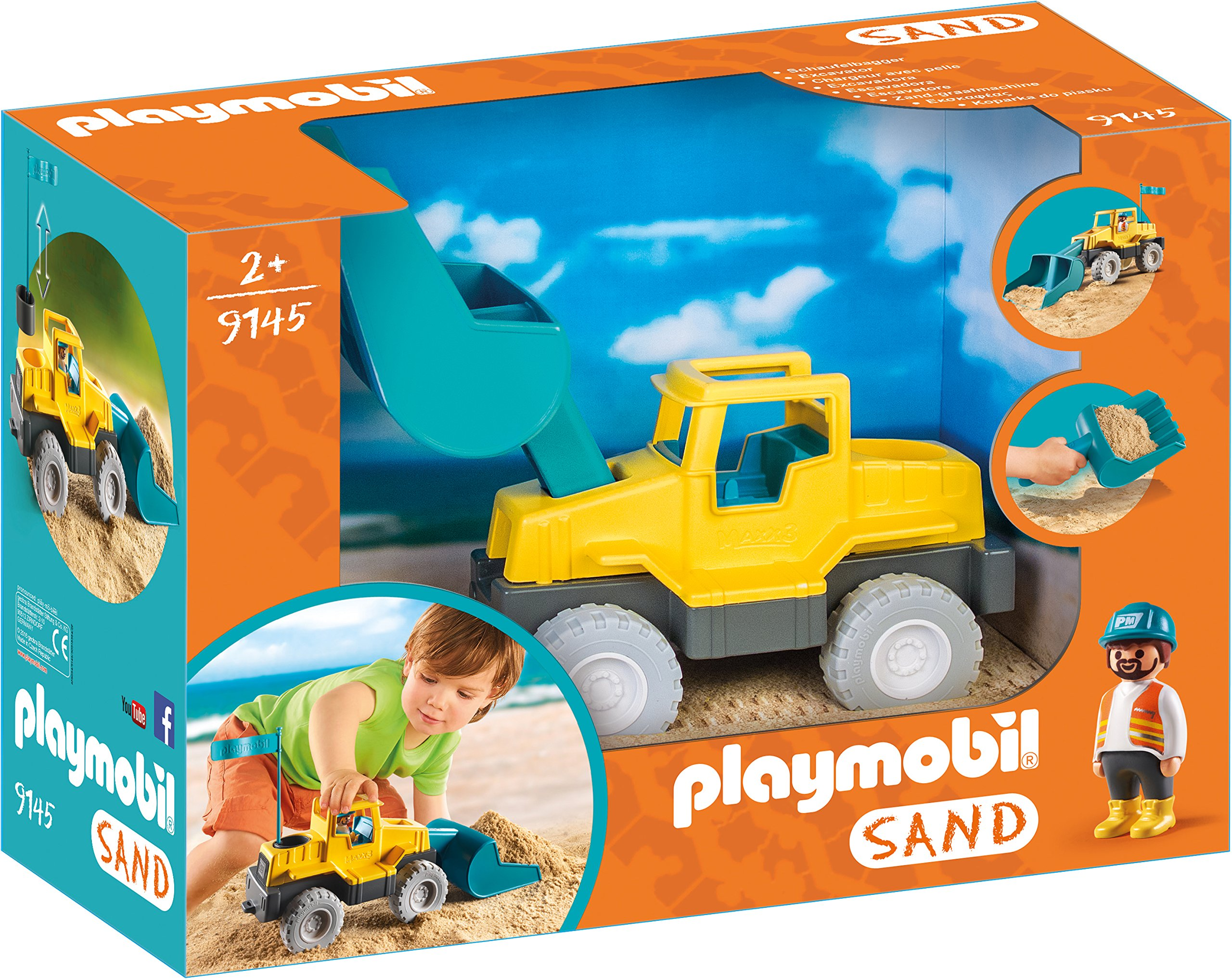Playmobil Sand 9145 Excavator for Children Ages 2+