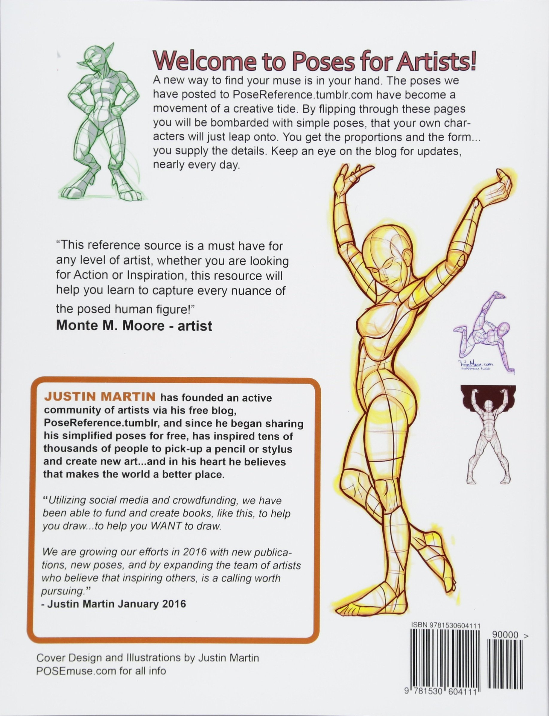 Poses for Artists Volume 2 - Standing Poses: An essential reference ...