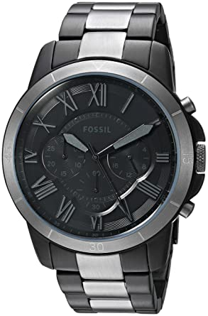 Fossil Mens FS5269 Grant Sport Chronograph Two-Tone Stainless Steel Watch