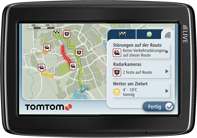 TomTom GO LIVE 820 Europe - Navegador GPS de carrera con mapas de toda Europa (4.3 pulgadas, HD Traffic, Bluetooth) [importado de Alemania]
