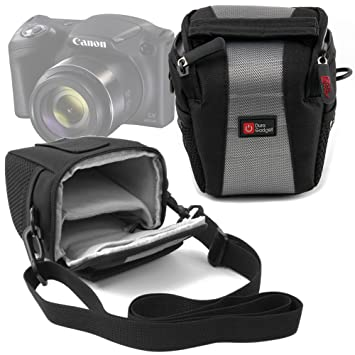 DURAGADGET Funda para Cámara Canon Powershot SX420 IS | con Asa De Hombro Ajustable - Ideal para Viajes/Excursiones