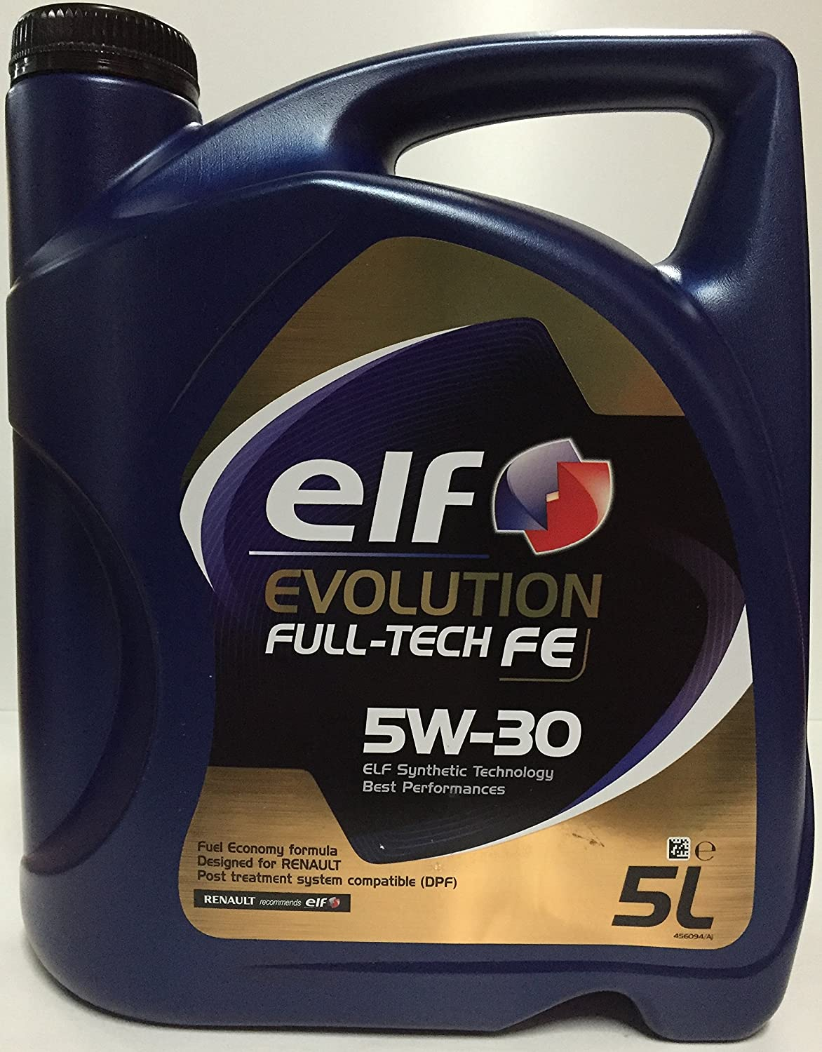 aceite motor ELF EVOLUTION Full-Tech FE 5W-30 5 litros (5 Ltrs=1 x 5 L): Amazon.es: Coche y moto