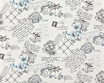 Papier Peint Style Country Intisse Xxl Edem 904 17 Aspect Romantique