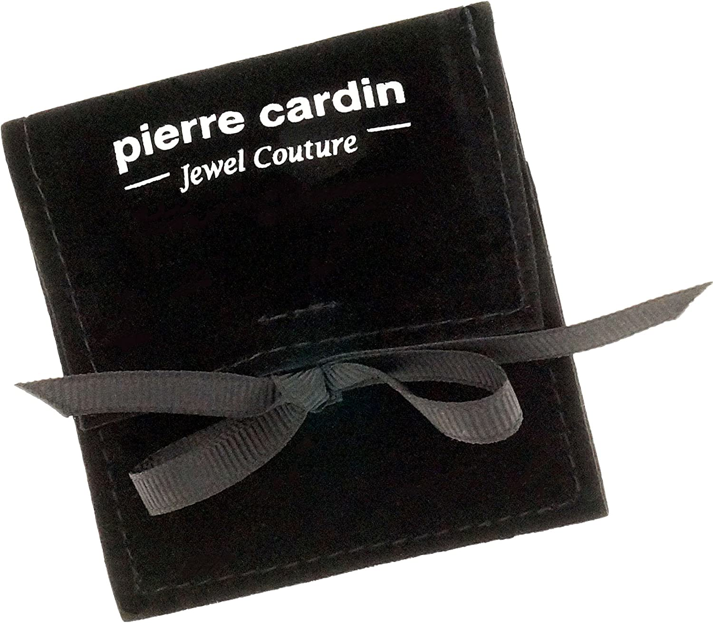 Pierre Cardin PCRG10025C170 Saturne Bague pour Femme en Acier Inoxydable et oxyde de Zirconium Blanc Brillant