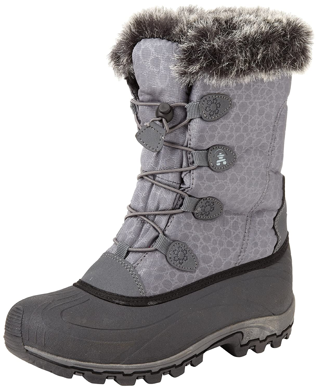 Kamik Women's Momentum Snow Boot B00AZOCA68 6 B(M) US|Charcoal