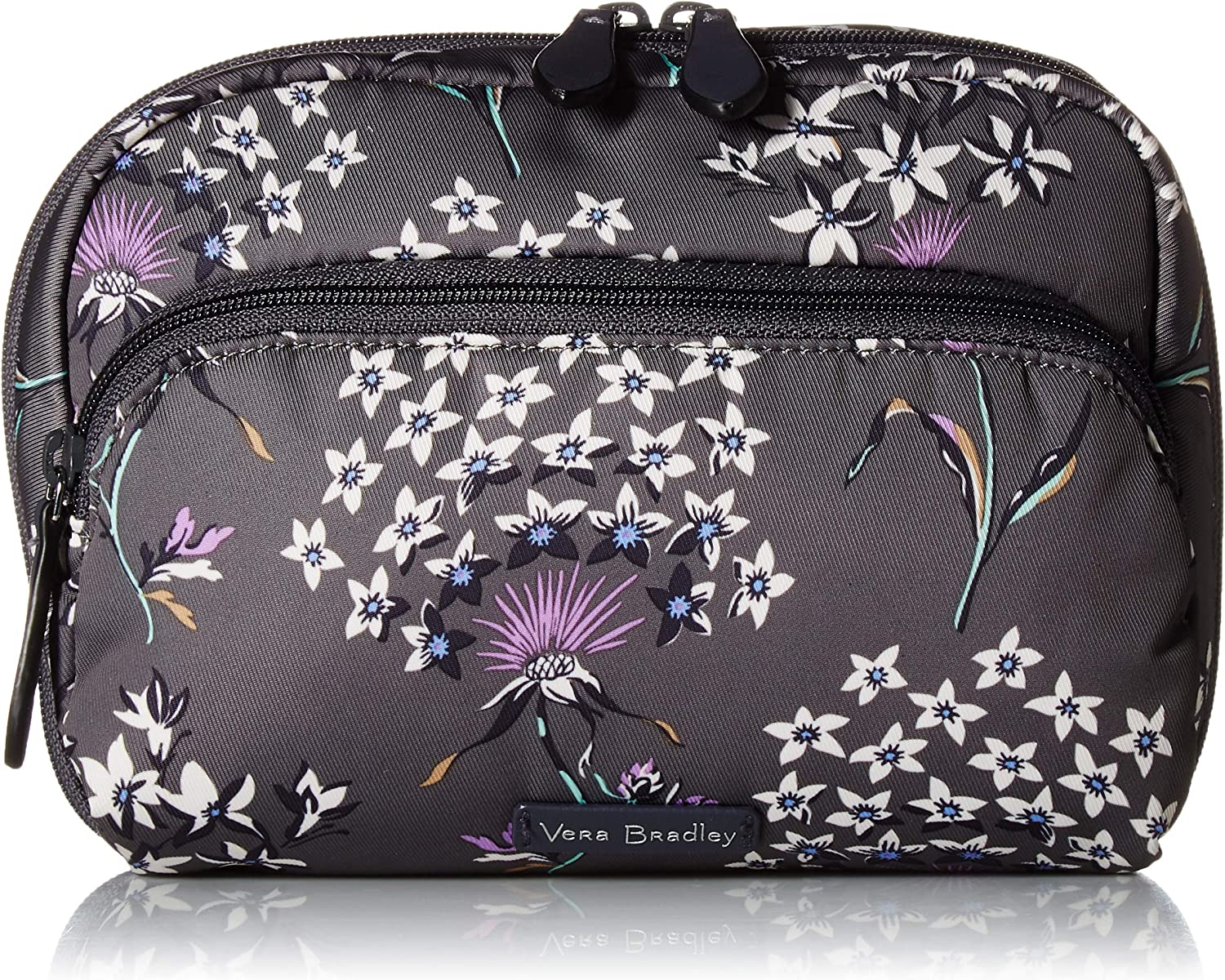 Vera Bradley Midtown Cosmetic Makeup Bag, Performance Twill