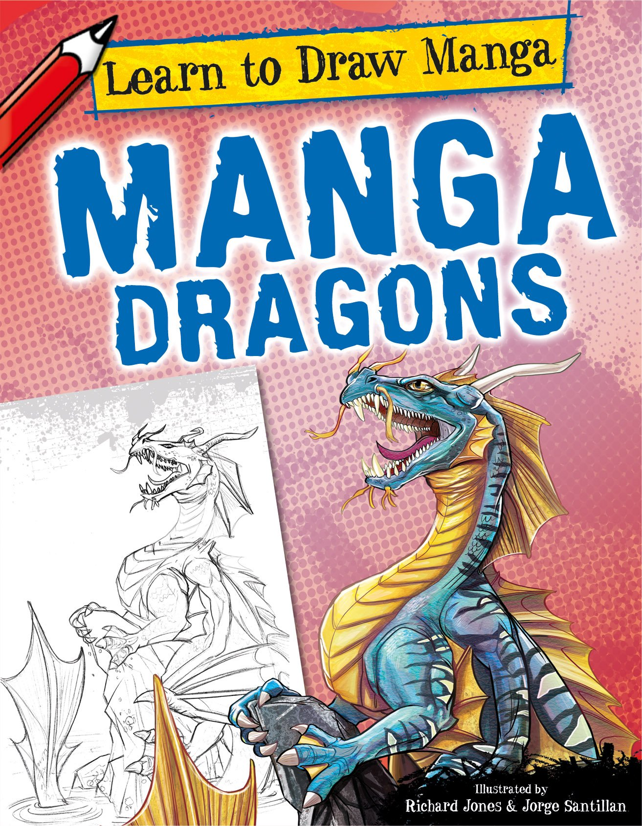Manga Dragons (Learn to Draw Manga)