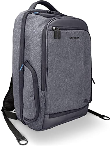 Naztech SmartPack Multi-Utility Travel Bag Backpack with Built-in Seamless Cable Routing,USB Port For Mobile Devices.TSA-friendly,laptop Tablet Pocket