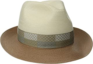 product image for Stetson Men's Andover Florenine Milan Straw Hat