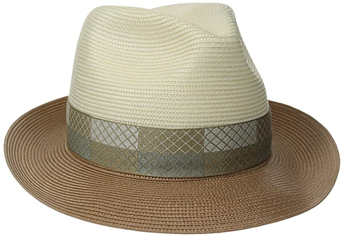 271e0137ae6 Stetson Mens Andover Florenine Milan Straw Hat  Amazon.ca  Clothing    Accessories