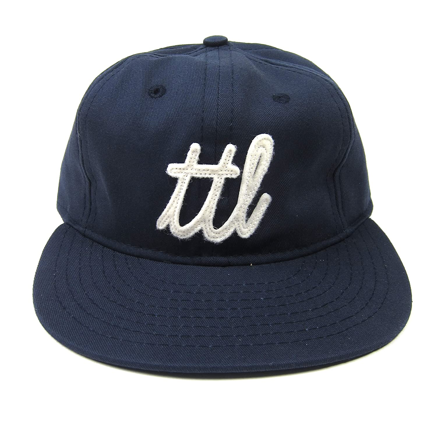 0410c8221b194 Turntable Lab  TTL Ebbets Field Hat - Navy at Amazon Men s Clothing store