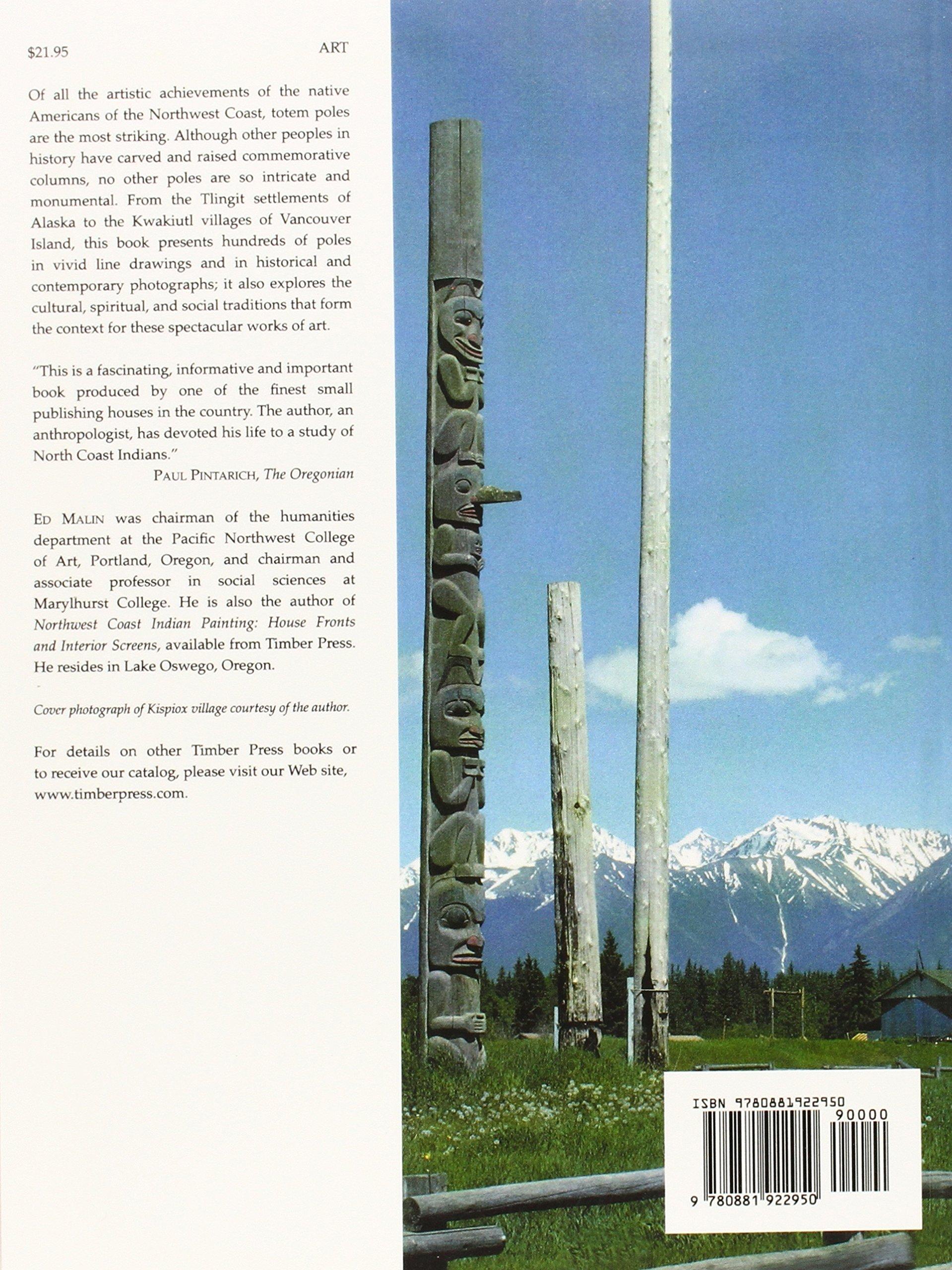totem poles of the pacific northwest coast edward malin