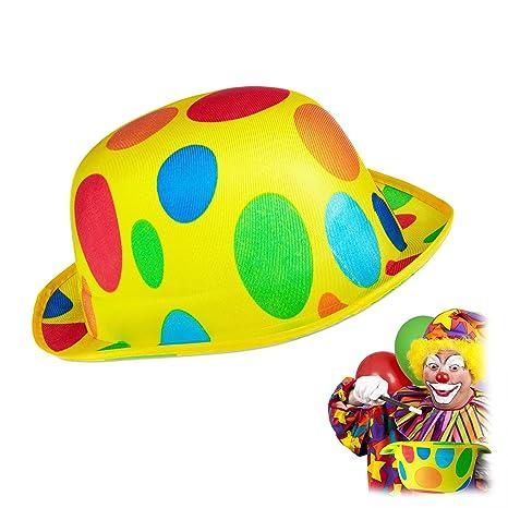 Relaxdays Cappello da Clown c0abe4660c01