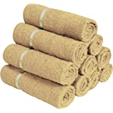 Story@Home 10 Piece 450 GSM Cotton Face Towel Set - Beige