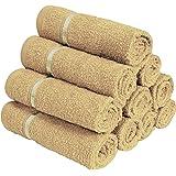 Story@Home 450 GSM Set of 10 pcs 100% Cotton Face Towel (Beige)