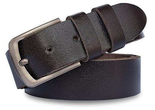 b9492474907912 MT Men s Full Grain leather Belt for Jeans
