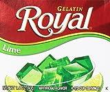 Royal Gelatin, Fat Free Dessert Mix, Lime (12 - 1.4 oz Boxes)