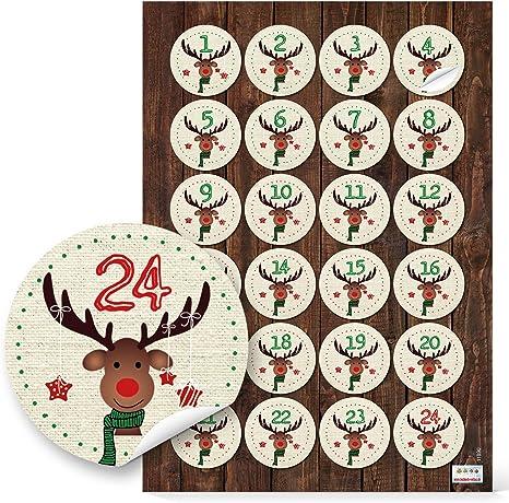 Advent Geschenkanh\u00e4nger digital Download X-Mas DIY Weihnachten Adventskalenderzahlen Anh\u00e4nger maritim Zahlen Adventskalender