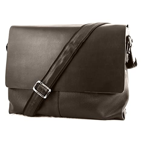 d8dd577313 Amazon.com  Small Soft Leather Man s Soft Briefcase Business ...